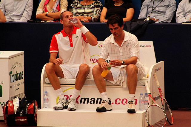 Guy Forget and Arnaud Boetsch