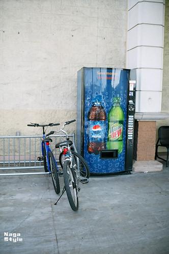 Bike&Vending machine
