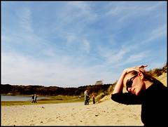 day1661 sun03oct2010 (a.pic.a.day) Tags: woman lake beach netherlands strand meer portait nederland nina portret vrouw femaleportrait overveen kennemerland parnassia httpapicadayblogwordpresscom