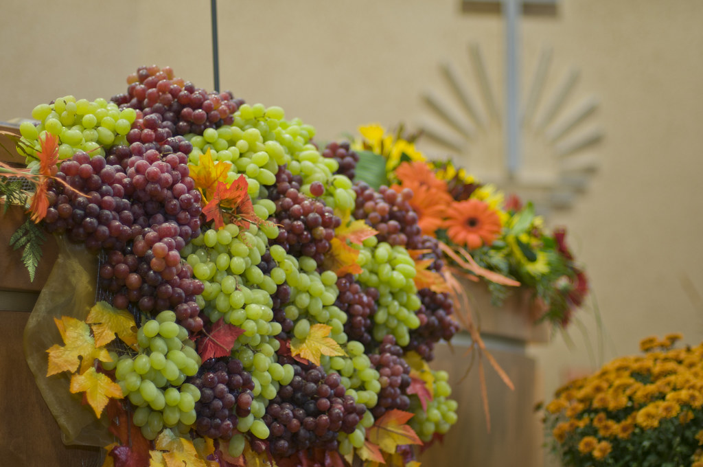 NAC Grape Altar Decoration - Thanksgiving Decoration