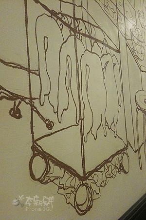 牆面上的壁畫