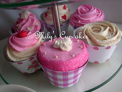 Special: Happy Mother's Day! (Mily'sCupcakes) Tags: pink flowers red roses verde green tower cup cookies de hearts happy la cupcakes rojo cookie day torre rosa dia special mothers cupcake rosas taza toppers madre wrappers galletas corazones galletitas milys