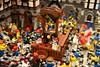 It Always Draws a Crowd (Totoro's Expy) Tags: seattle lego exhibition wa minifig seattlecenter beheading guillotine sonyalpha tamronspaf1750mmf28xrdiiildasphericalif α700 sonydslra700 brickcon2010