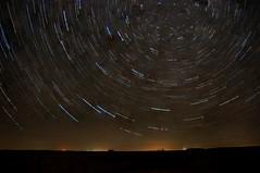 Star Trails over the Prairie (flinthillsphoto) Tags: sky night dark stars trails kansas prairie startrails nikond90