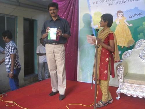 Ramakrishnan Releases Book Written By Krithya