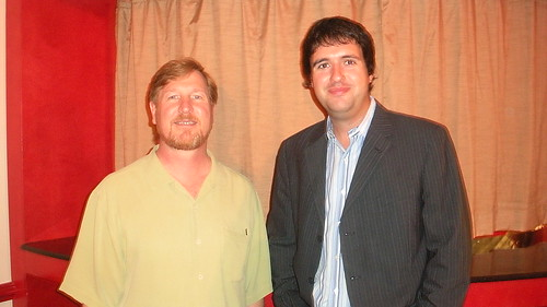 Jon Bolta (left) and Kris Chislett (right)