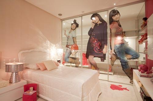 decoração de quarto jovem feminino fotos