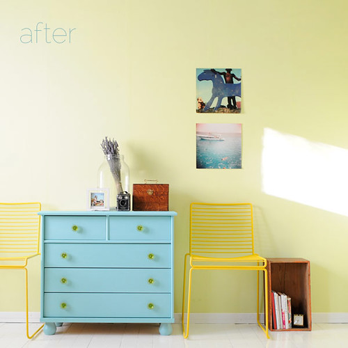 After: The chest of drawers