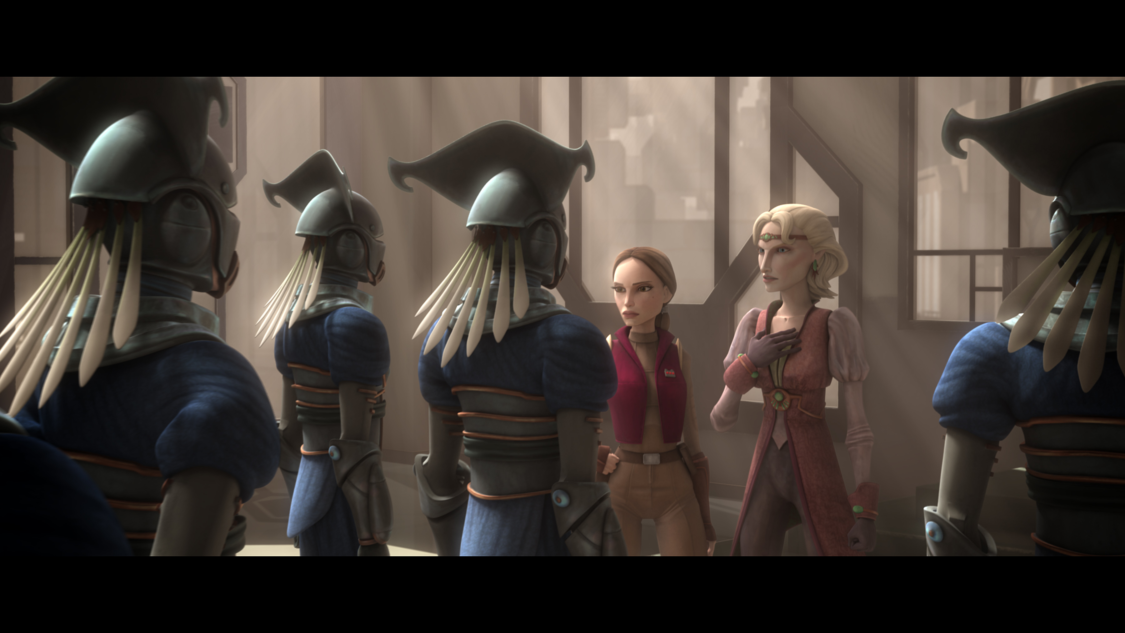 Publicity still for Star Wars: The Clone Wars