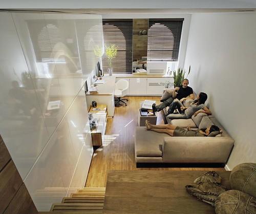 klein appartement interieur