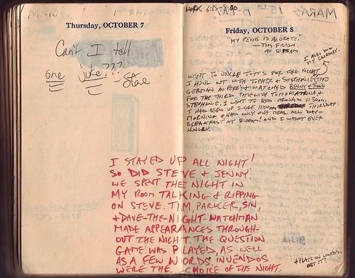 1954: October 7-8