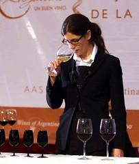 La mejor sommelier de la Argentina promoverá el vino