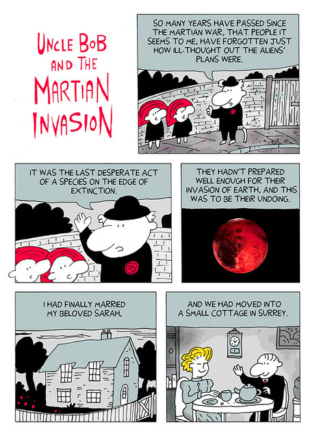 Uncle Bob And The Martian Invasion