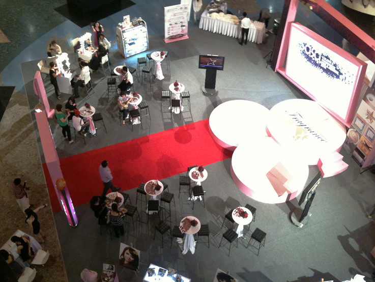 Top View of the Event