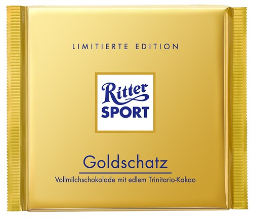 RITTER SPORT Goldschatz