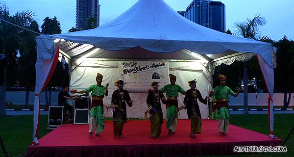Malay cultural dance