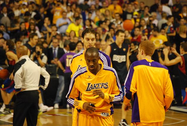 5063268340 d7cb44a0ee z Mi partido Barça Lakers