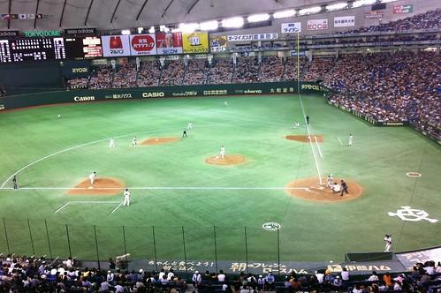 20年ぶりの野球観戦。楽しかったなぁ~。最後までもつれた良い試合でした。