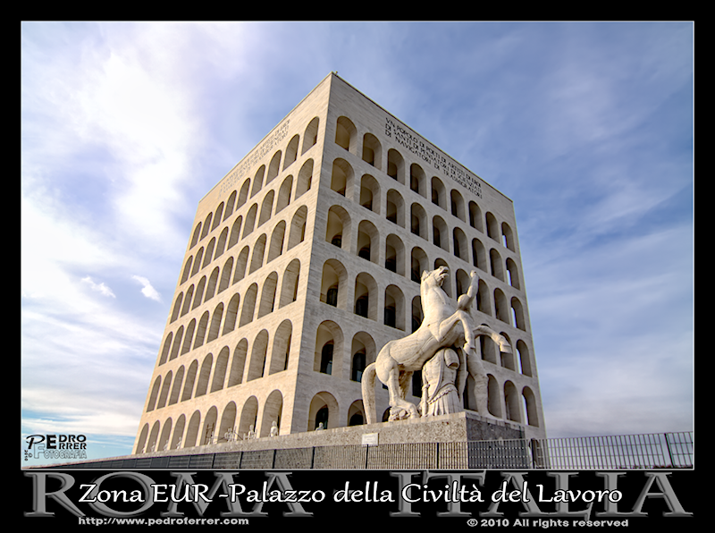 Roma EUR - Colosseo Quadrato