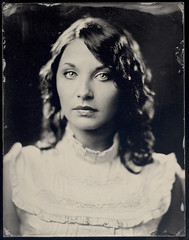 Roxanna (Dan Carrillo) Tags: portrait blackandwhite 8x10 ambrotype largeformat roxanna alternativeprocess wetplatecollodion wollensakvitaxportraitlens modifiedpetzval deardorff11x14studiocamerawreducing8x10back