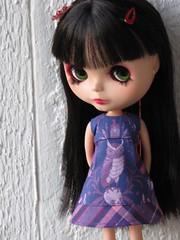 "Pouch Pocket dress - ""HooDunit"""