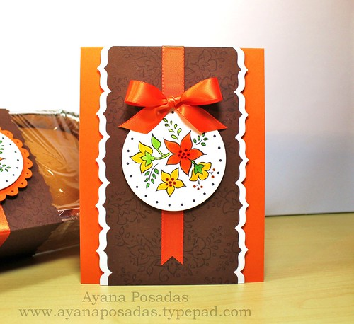 Autumn Card w Pumpkin Bread (2)