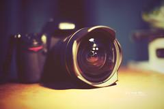283/365 Brother's Camera. (Victor Mui) Tags: camera original blur classic film canon lens photography nikon angle brothers bokeh wide victor 5d tones effect len f28 d300 mui 283365 1424mm victormui