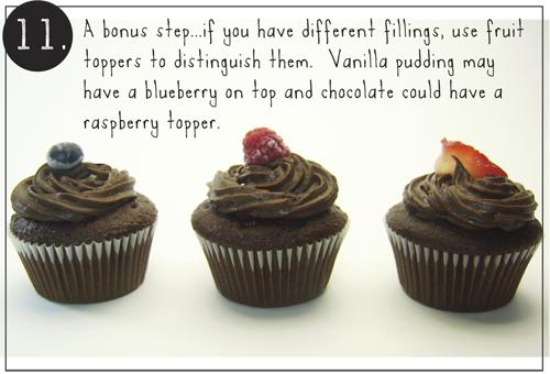 Step 11: Joy Cupcake