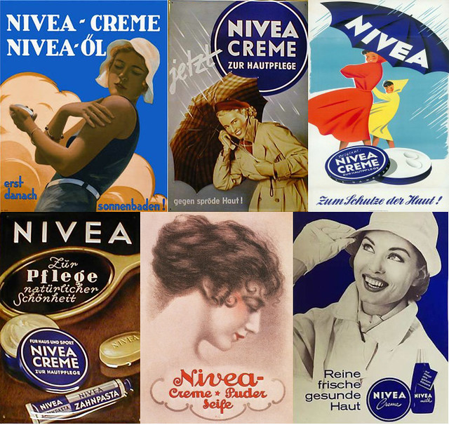 nivea creme vintage adverts