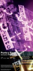 PyR Poster by Lara Osterwalder (Punto y Raya Festival) Tags: barcelona festival tour internacional american mad gira actions anasantos puntoyraya iotacenter noelpalazzo estadosunidos2010 golanlevinstudentspuntoyrayafestivalposterstudioforcreativeinquirycarneghiemelloncollegedesigngraphic laraosterwalder