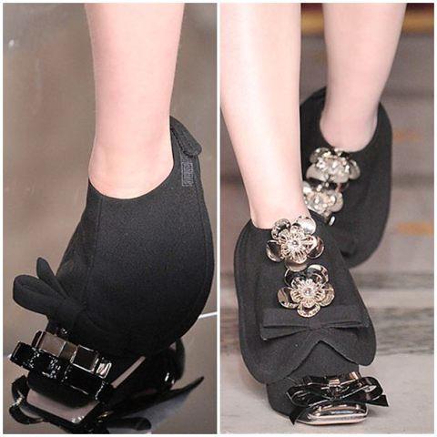 Miu Miu Shoe spats FW10 2