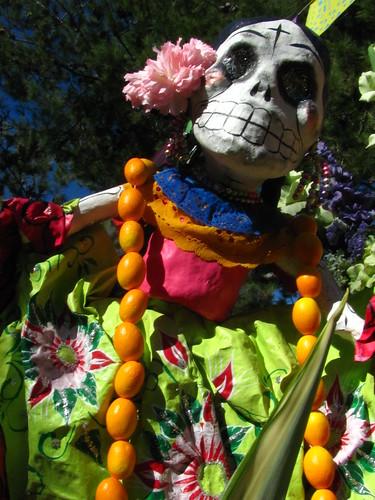 Dia de los Muertos in Zocalo Park