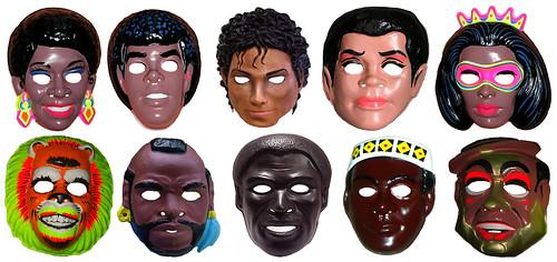 france pas cher vente la moitié grande remise 76ers Dr J And Michael Jackson Masks 0131 - a photo on ...