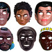 76ers Dr J And Michael Jackson Masks 0131