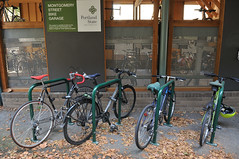 Montgomery St Bike Garage at PSU