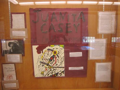 Juanita Casey exhibit