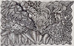 Stormbreak (molossus, who says Life Imitates Doodles) Tags: art tangle zentangle zendoodle zentangleinspiredart