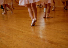 Let's dance (Mrs S.A) Tags: pink ballet dance nikond40 flickrchallengegroup flickrchallengewinner pregamewinner