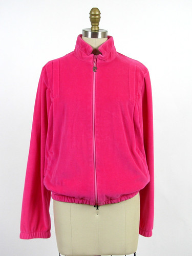 vintage 80s Pierre Cardin new wave velour jacket