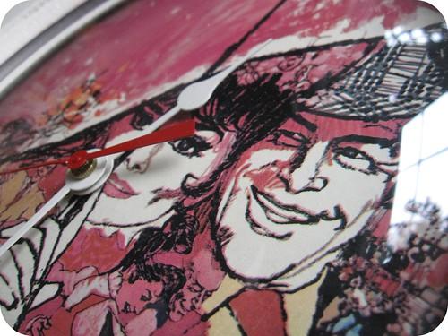 close up of album artwork my fair lady clock