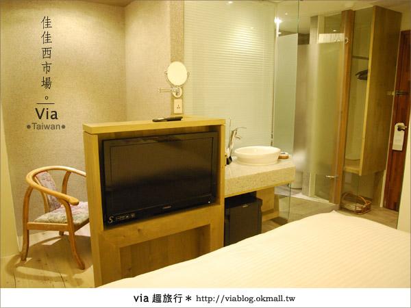 【台南住宿】佳佳西市場旅店~充滿特色的風格旅店!50