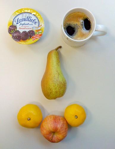 Landliebe Joghurt, Satsumas, Birne & Apfel