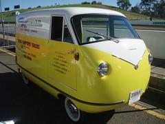 1960 Goggomobil Carryall - Buckle Motors (sv1ambo) Tags: classic creek bill panel sydney australian australia motors delivery van 2008 eastern buckle shannons 1960 raceway goggomobil carryall