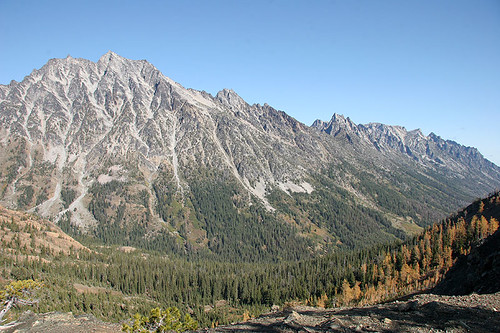 Mt Stuart and Ingalls Creek Valley
