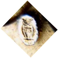 Owl counterstamp