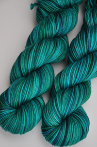 "*SALE* ""Rainforest"" on Aurora worsted"