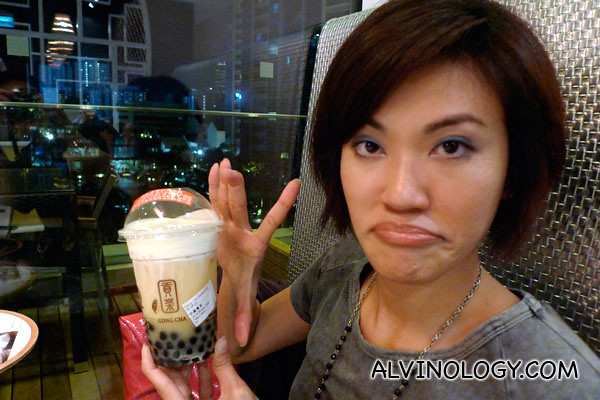 We are upset to learn that they shrunk the cup size in Singapore compared to Hong Kong