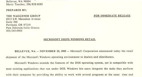 25 éves a Windows