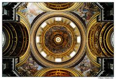 Sant'Agnese in Agone - Cupola (Mauro Orlando) Tags: italy roma tokina1224 12mm barocco lazio santagneseinagone tokina122412
