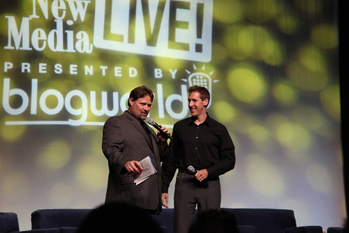 Blogworld founders Rick Calvert and Dave Cynkin